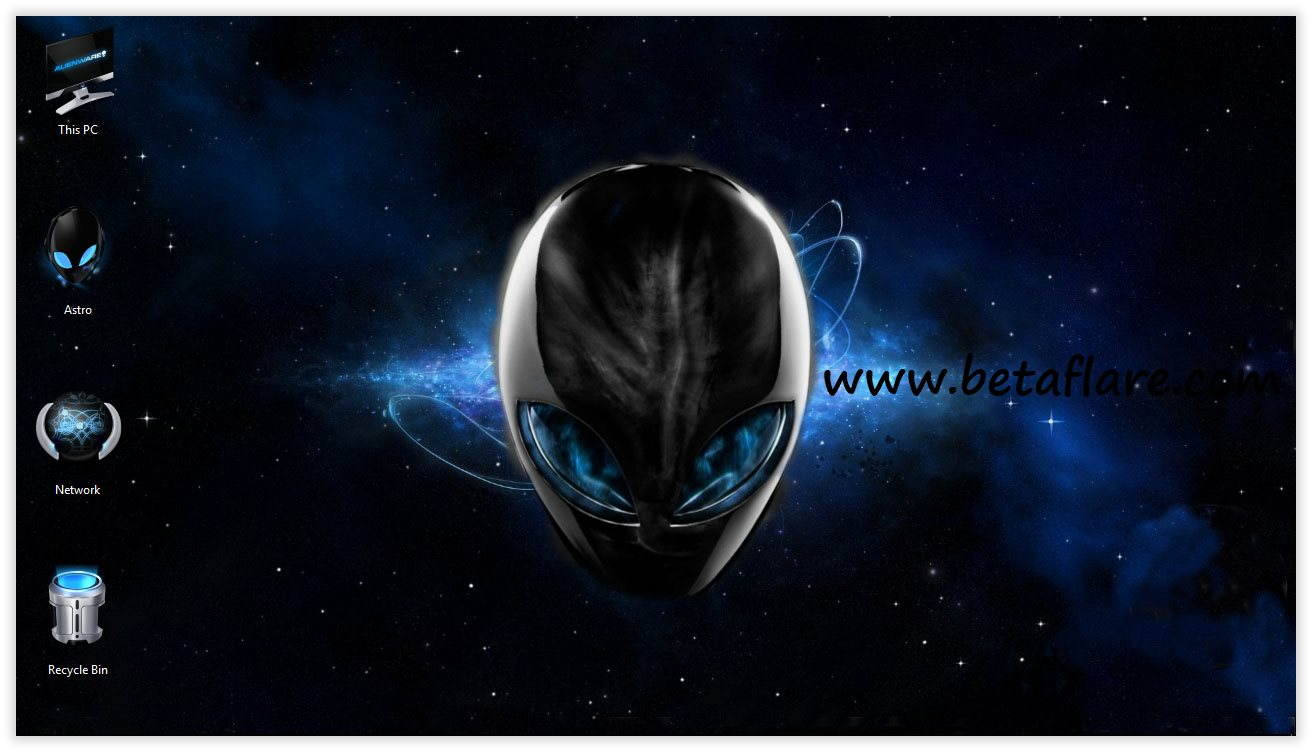 戴尔外星人ALIENWARE THEME(Win10&Win7主题包)
